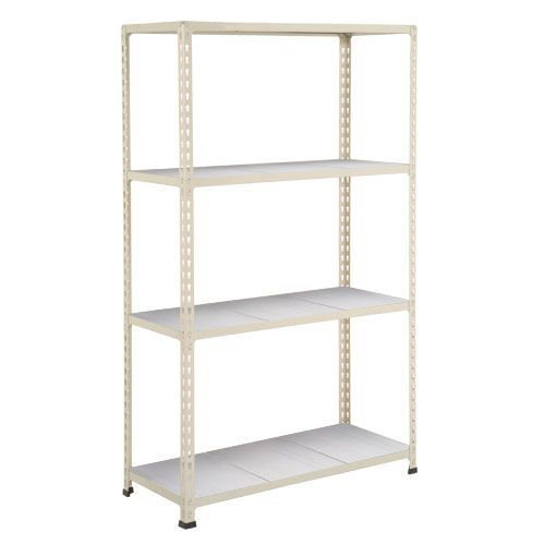 Rapid 2 Shelving (1980h x 915w) Grey - 4 Galvanized Shelves