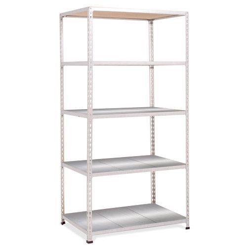 Rapid 2 Shelving (1980h x 915w) Grey - 5 Galvanized Shelves