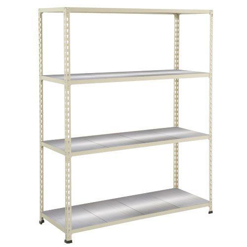 Rapid 2 Shelving (1980h x 1220w) Grey - 4 Galvanized Shelves