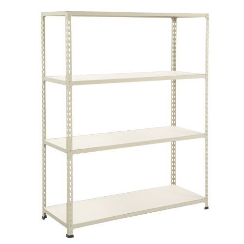 Rapid 2 Shelving (1980h x 1220w) Grey - 4 Melamine Shelves