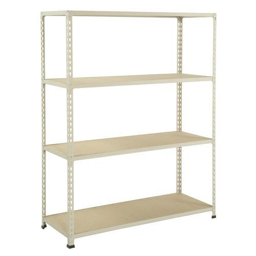 Rapid 2 Shelving (1980h x 1525w) Grey - 4 Chipboard Shelves