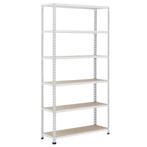 Rapid 2 Shelving (2440h x 915w) Grey - 6 Chipboard Shelves