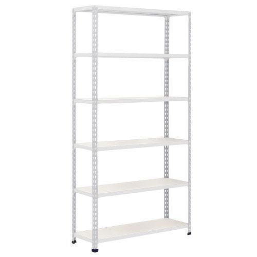 Rapid 2 Shelving (2440h x 915w) Grey - 6 Melamine Shelves