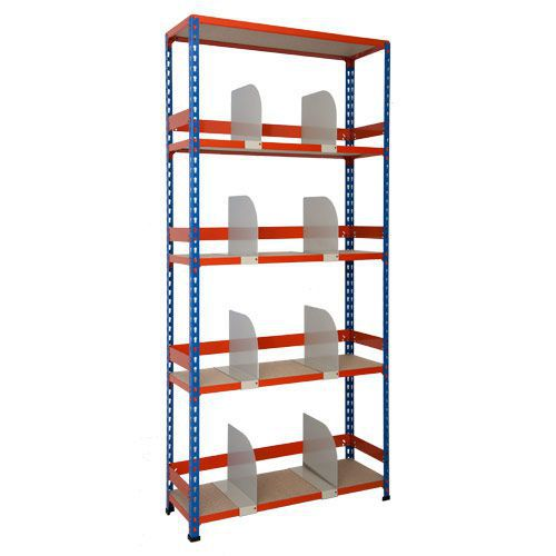 Rapid 2 Shelving (1980h x 915w) With Dividers Back & Side Stops
