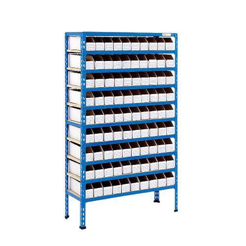Rapid 2 Shelving (1600h x 915w) 90 Cardboard Picking Bins