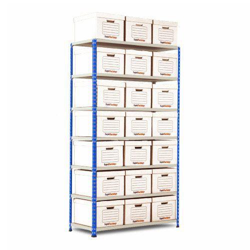 Rapid 2 Single Storage (1980h x 1120w) 21 White Document Boxes