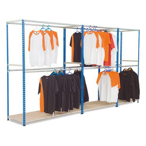 Rapid 2 Free Standing Garment Racking (3050h) With 3 Levels