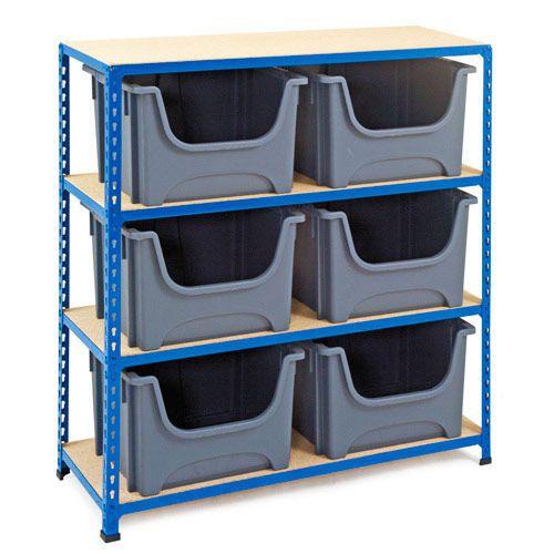 Rapid 2 (1220h x 1120w) Bin Storage Unit With 6 Bins