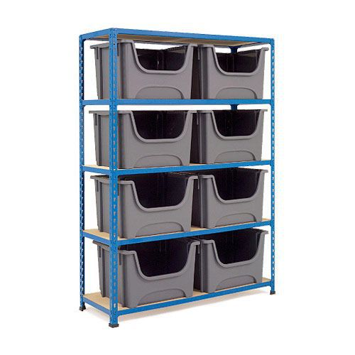 Rapid 2 (1600h x 1120w) Bin Storage Unit With 8 Bins