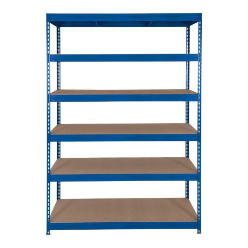 Rapid 3 Shelving (1800h x 900w) Blue - 6 Fibreboard Shelves