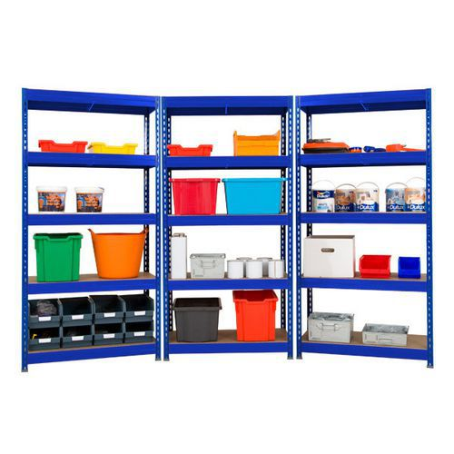 Rapid 3 Pro Shelving Three Bay Offer (1800h x 900w)