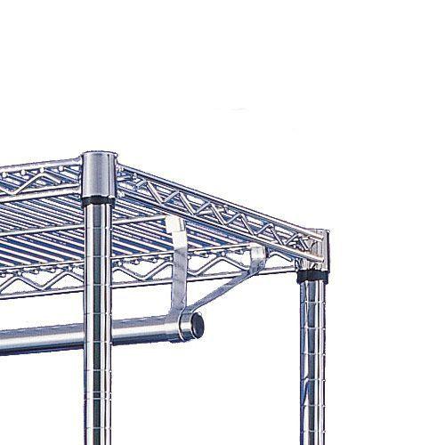 Garment Poles for Chrome Shelving