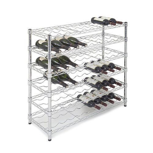Chrome Wine Rack - Additional Shelf
