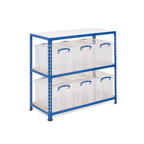 Rapid 2 Storage Bay - 6 x 84 Litre Really Useful Boxes