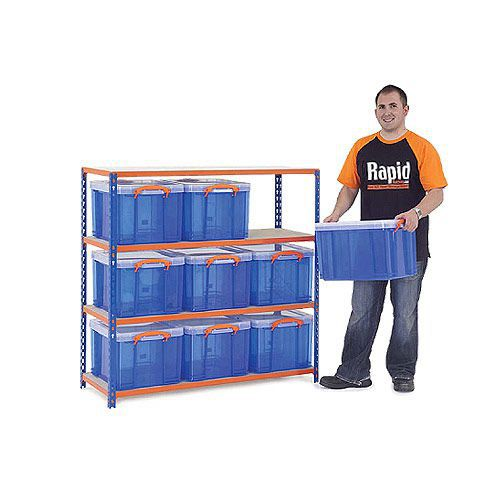 Rapid 2 Storage Bay - 9 Really Useful Boxes