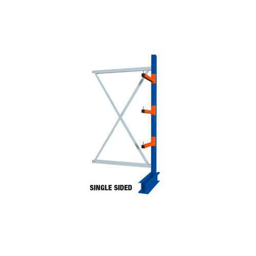Heavy Duty Single Sided Cantilever Racking - 3000 x 900 Add-on Bay