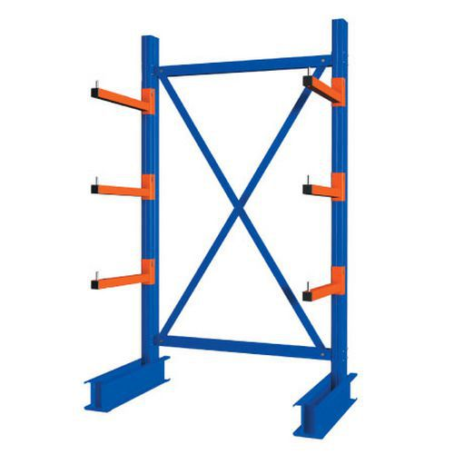 Heavy Duty Single Sided Cantilever Racking - 2000 x 1500 Starter Bay