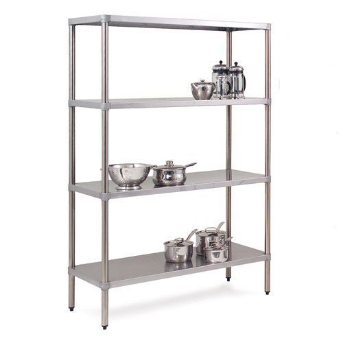 Stainless Steel Shelving Units (1800h x 525d)