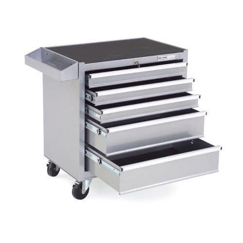Silver Range 5 Drawer Mobile Cabinet