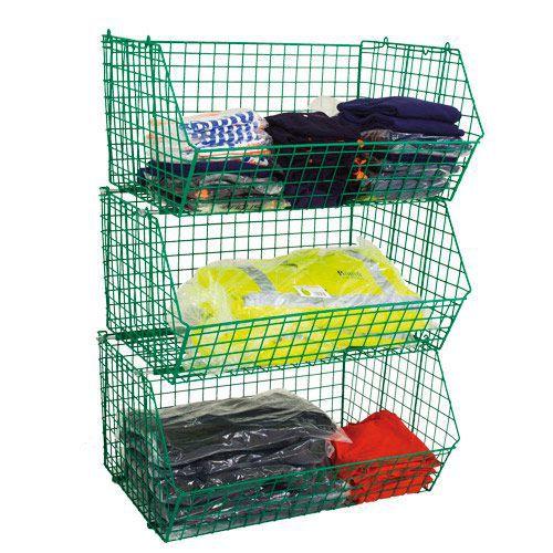 Wire Storage Display Baskets (120kg Capacity)