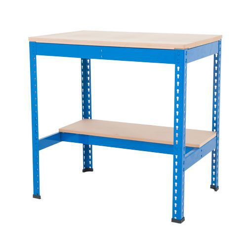 Swell Boltless Workbench 400Kg Udl Shelf Free Delivery Manutan Uk Ocoug Best Dining Table And Chair Ideas Images Ocougorg