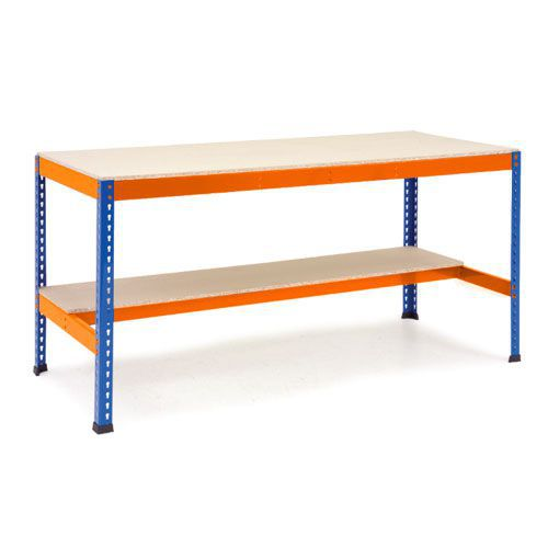 Rapid 1 - Heavy Duty Workbench (915w) With Lower Half Shelf