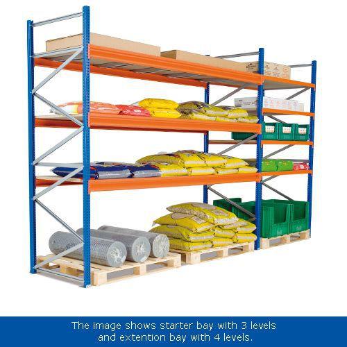 Wide Span (2500h x 2140w) Galvanized Level Kits