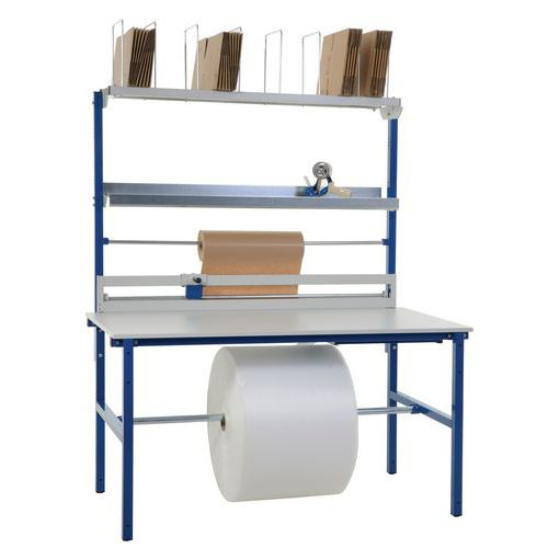 Compact wrapping table - Complete