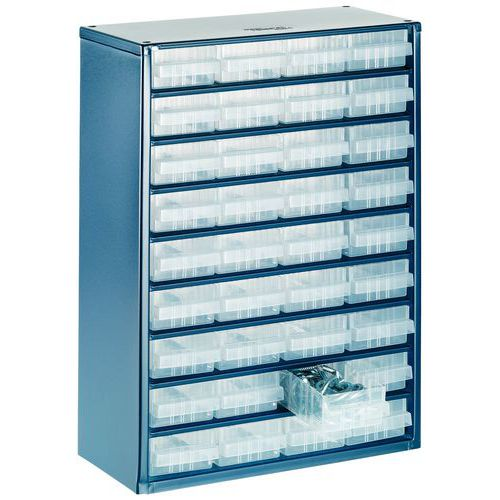 Small Parts Storage Cabinet 900 Series - 6 to 36 Drawers