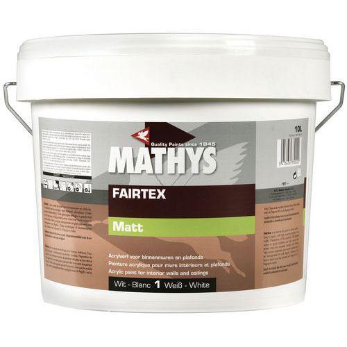 Rust-Oleum matt acrylic wall and ceiling paint Mathys, white