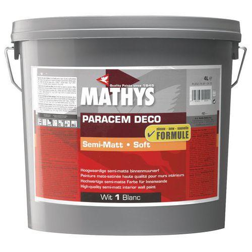 Mathys high-quality semi-matt acrylic paint, white, 4 and 10L - Rust-Oleum