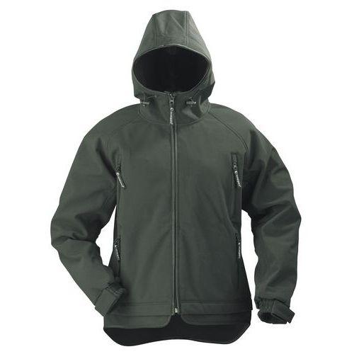 Yin women's softshell work jacket - Black