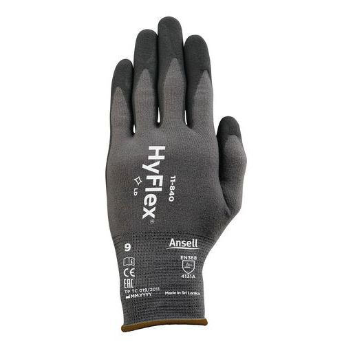 HyFlex® 11-840 ergonomic handling gloves