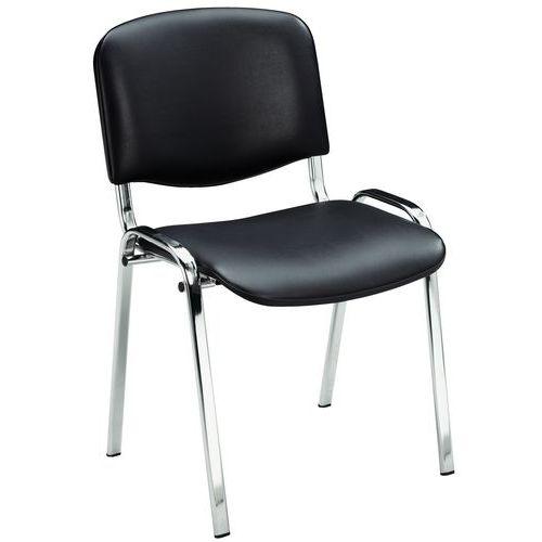 Humphreys Visitor Chair - Chrome - Manutan