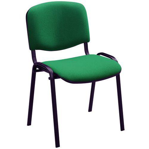 Blackburn Stackable Meeting Room Chair - Black Frame - Manutan