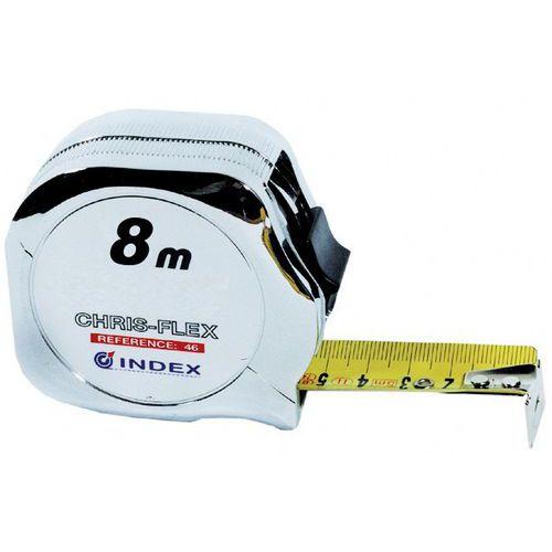 Chrome Tape Measure - 2 to 8m