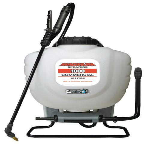 15L Backpack Sprayer For Liquids And De-Icer
