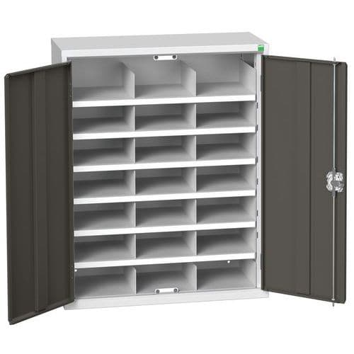 Bott Verso 21 Compartment Metal Storage Cupboard HxW 1000x800mm