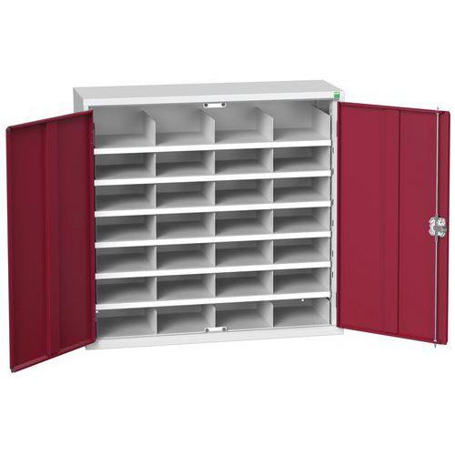 Bott Verso 28 Compartment Metal Storage Cupboard HxW 2000x1050mm