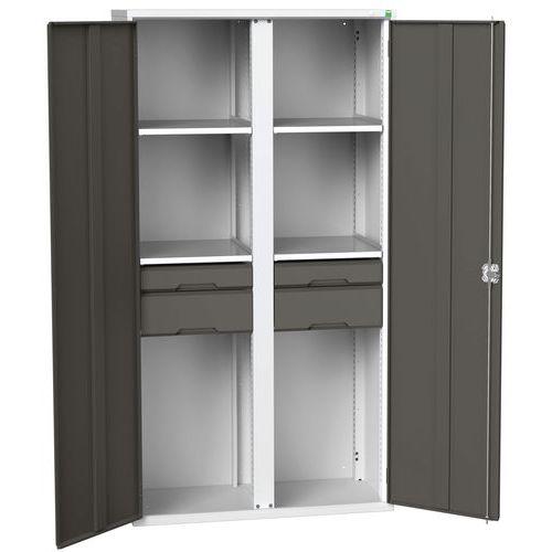 Bott Verso Multi-Shelf/Drawer PPE Cabinet HxW 2000x1050mm
