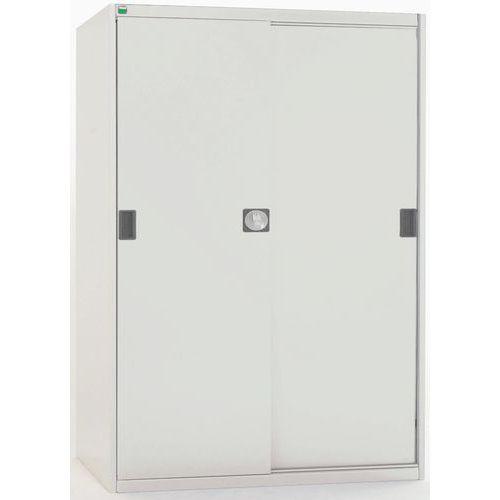 Bott Cubio Sliding Door Metal Storage Cabinet HxW 1600x1300mm