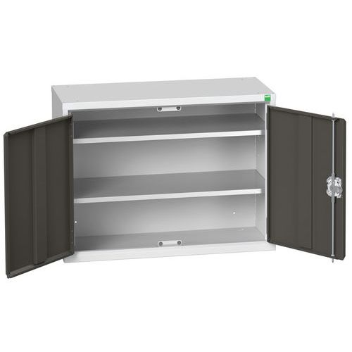 Bott Verso Wall Mounted Metal Cabinet With Shelving HxW 600x800mm