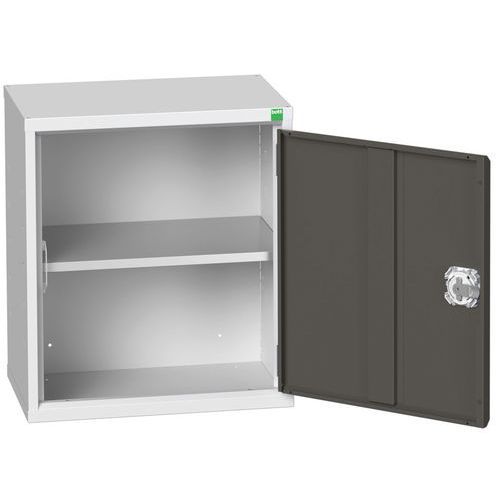 Bott Verso Wall Mounted Metal Cabinet With Shelves HxW 600x525mm
