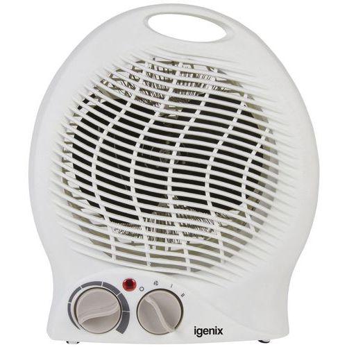 2kW Upright Fan Heater - White