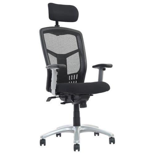 Orbit Executive Mesh Office Chair with Headrest
