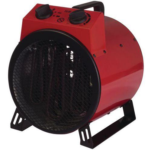 3kW Industrial Drum Heater - Red