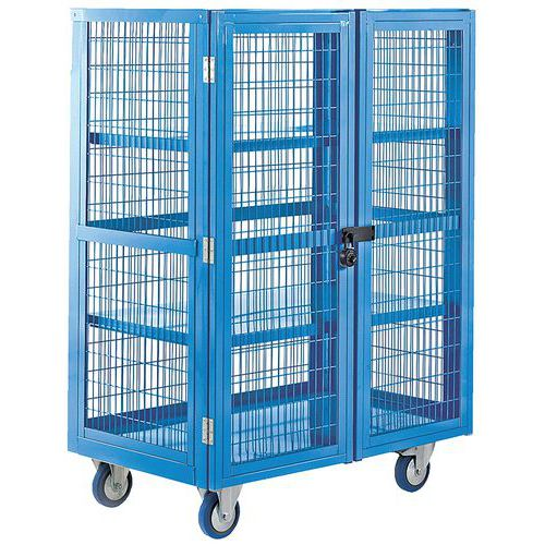 Boxwell Trolley with Doors