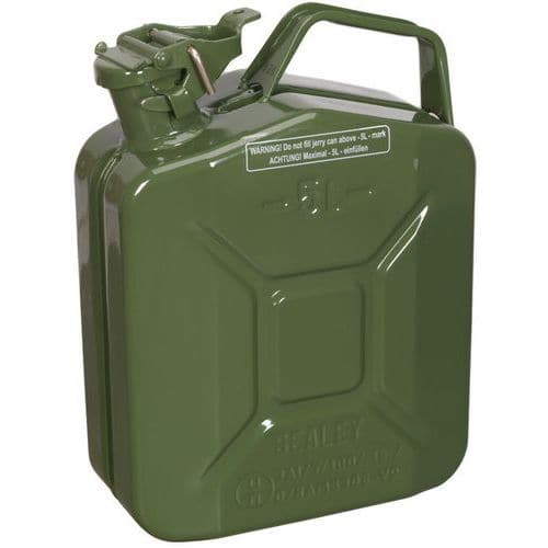 Steel Jerry Cans 5L