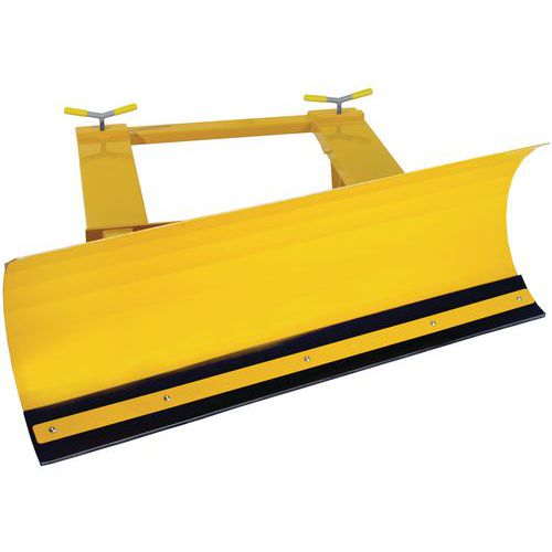 Forklift Mounted Fixed Position Snow Plough