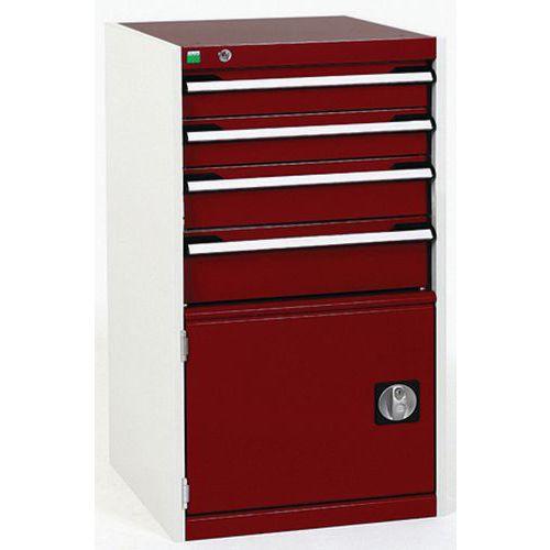 Bott Cubio Heavy Duty Metal Combination Tool Storage Cabinet WxD 525x650mm